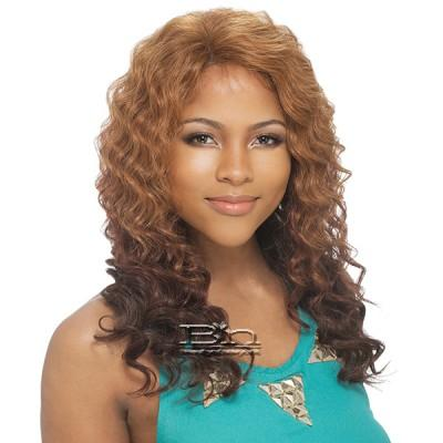 Milky Way Saga 100% Remy Human Hair Invisible Part Lace Front Wig - LEGEND