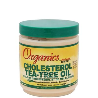 Africa's Best Organics Cholesterol Tea-Tree Oil Leave-In Conditioner 15oz