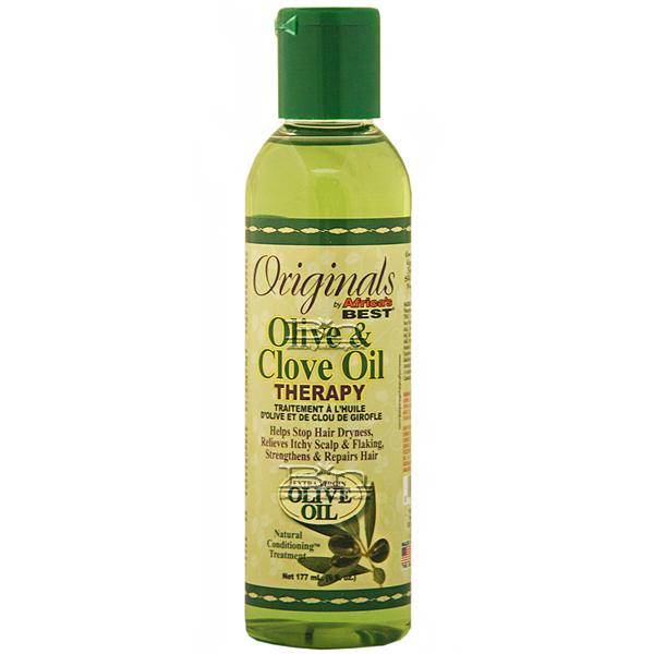Africa's Best Olive & Clove Oil Therapy Treatment 6oz