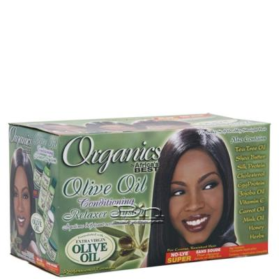 Africa's Best Organics Olive Oil Conditioning Relaxer - Super