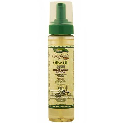 Africa's Best Olive Oil Silkening Foam Wrap Lotion 8.5oz