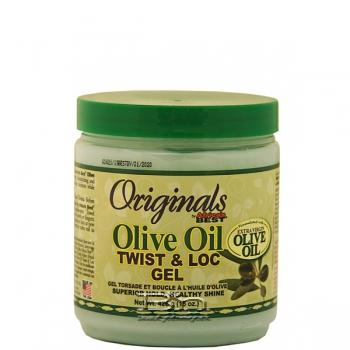 Africa's Best Olive Oil Twist & Loc Gel 15oz