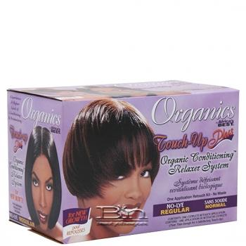 Africa's Best Organics Touch-up Plus Organic Conditioning Relaxer - Regular