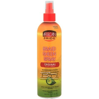 African Pride Braid Sheen Spray Original 12oz