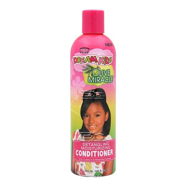 African Pride Dream Kids Olive Miracle Detangling Moisturizing Conditioner 12oz