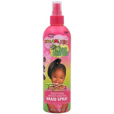 African Pride Dream Kids Olive Miracle Soothing Moisturizing Braid Spray 12oz