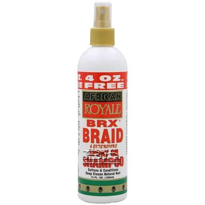 African Royale BRX Braid Spray on Shampoo 12oz