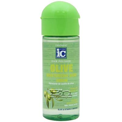 Fantasia IC Hair Polisher Olive Moisturizing Shine Serum 2oz