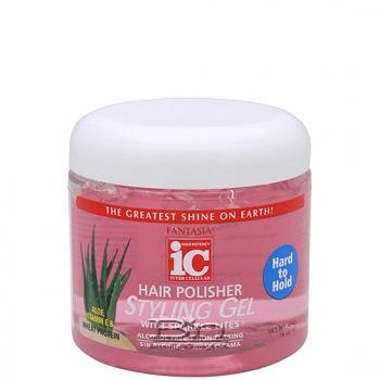 Fantasia IC Hair Polisher Styling Gel - Hard to Hold 16oz
