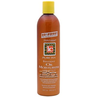 Fantasia IC Pure Tea Instant Oil Moisturizer Hair Lotion 12oz