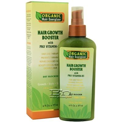 Organic Hair Energizer Hair Growth Booster 6oz