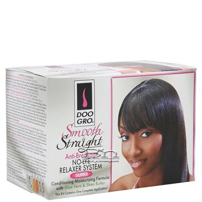 Doo Gro Smooth & Straight No-Lye Relaxer Kit - Super
