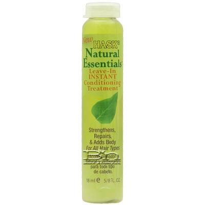 Hask Natural Essentials Leave-In Instant Conditioning Treatment 0.625oz