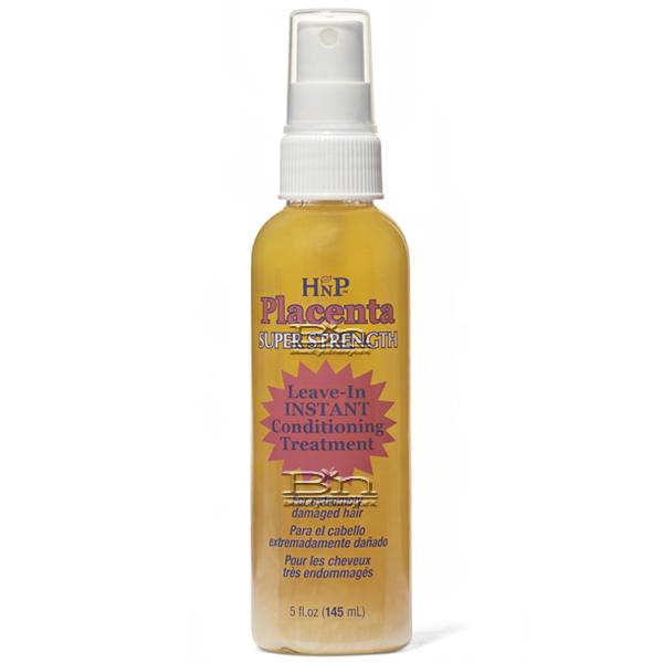 Hask Placenta Leave-In Instant Hair Conditioning Treatment Original 5oz