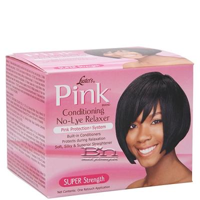 Luster's Pink Conditioning No-Lye Relaxer Kit -Super