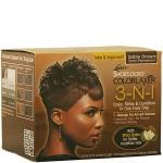 Luster's Pink Shortlooks Colorlaxer 3-in-1 Color Relax Kit - Sable Brown