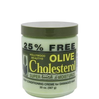 Hollywood Beauty Olive Cholesterol Deep Conditioning Creme 20oz