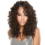 Milky Way Que Human Hair Blend Weave Fourbulous - DIO LONG 5PCS (14/14/16/16 Inch)