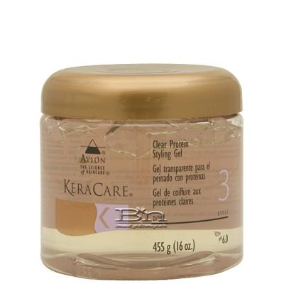 Avlon KeraCare Clear Protein Styling Gel 16oz