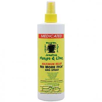 Jamaican Mango & Lime Mentholated Maximum Relife  No More Itch Gro Spray 16oz