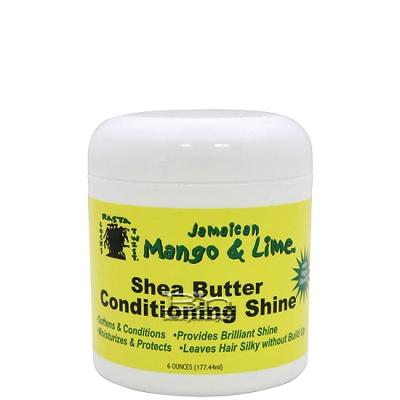 Jamaican Mango & Lime Shea Butter Conditioning Shine 6oz