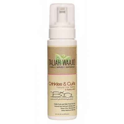 Taliah Waajid Crinkles & Curls Natural Hair Setting & Styling Lotion 8oz