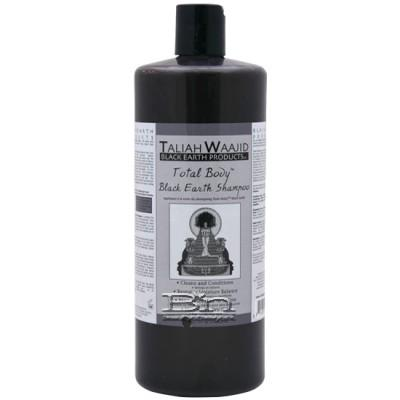 Taliah Waajid Total Body Black Earth Shampoo 32oz