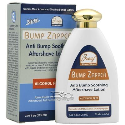 Breej Bump Zapper Anti Bump Soothing Aftershave Lotion 4.25oz