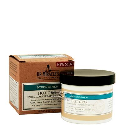 Dr.Miracle's Hot Gro Hair & Scalp Treatment Conditioner (Super) 4oz