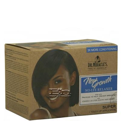 Dr.Miracle's New Growth No-Lye Relaxer - Super