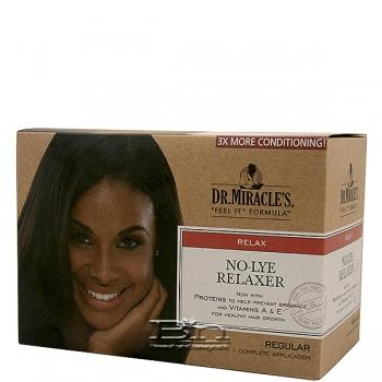 Dr.Miracle's No-Lye Relaxer Kit - Regular