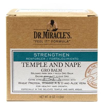 Dr.Miracle's Temple & Nape Gro Balm - Regular 4oz