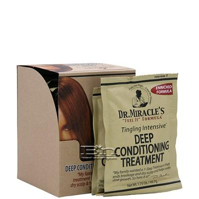 Dr.Miracle's Tingling Intensive Deep Conditioning Treatment 1.75oz X 12pcs