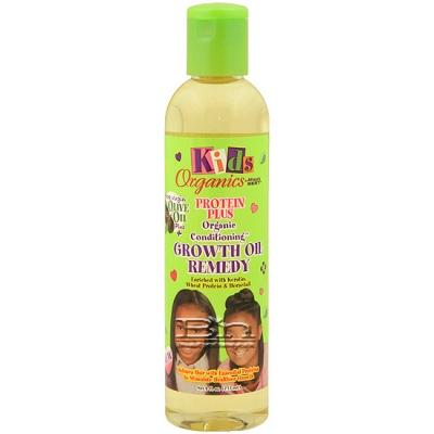 Kids Organics Protein Plus Organic Conditioning Growth Oil Remedy 8oz