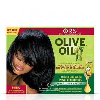 Organic Root Stimulator Olive Oil No-Lye Relaxer Kit Normal