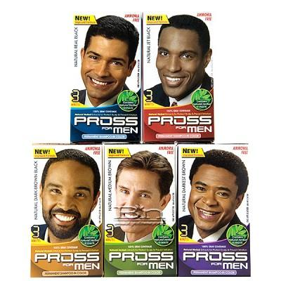 Kiss Pross for Men Permanent Shampoo-In Color