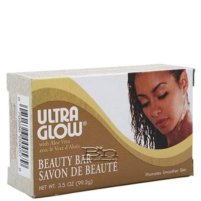 Ultra Glow Beauty Bar With Aloe Vera 3.5oz