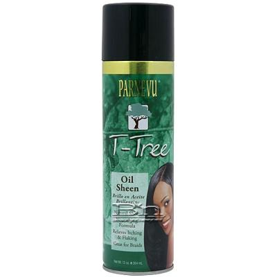 Parnevu T-Tree Oil Sheen spray 12 oz