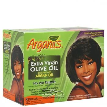 Arganics No Lye Relaxer Kit - Regular