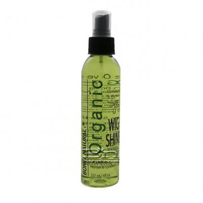Bonfi Natural Organic Wig Shine with Olive Essence 6oz