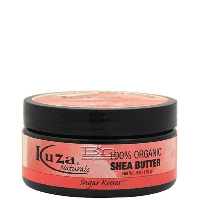 Kuza Naturals 100% Organic Shea Butter - Sugar Kisses 6oz