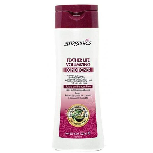 Groganics Feather Lite Super Gentle Formula Volumizing Conditioner 8oz