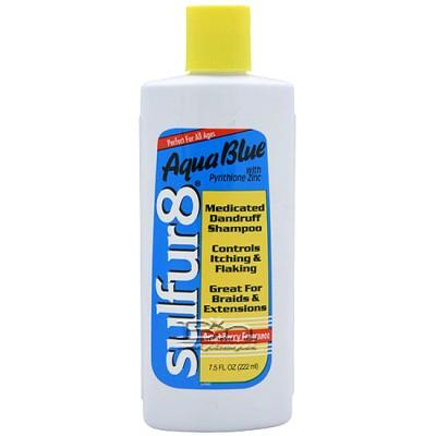 Sulfur8 Aqua Blue Medicated Dandruff Shampoo 7.5oz