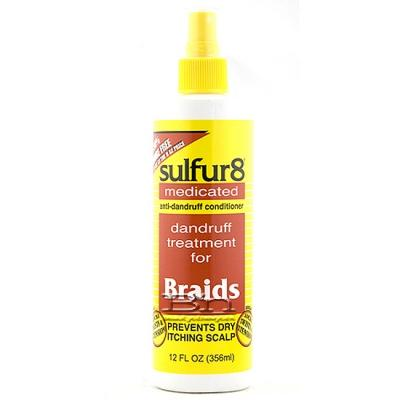 Sulfur8 Dandruff Treatment For Braids 12oz