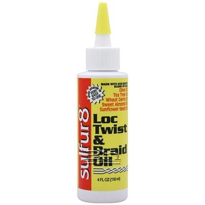 Sulfur8 Loc Twist & Braid Oil 4oz