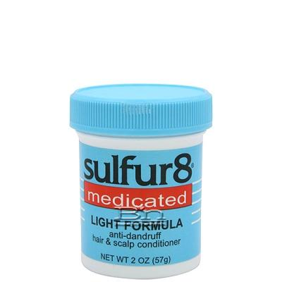 Sulfur8 Medicated Light Formula Anti-Dandruff Hair & Scalp Conditioner 2oz