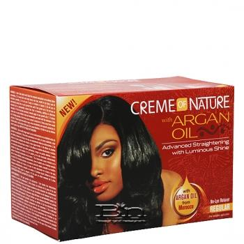 Creme of Nature Argan Oil No-Lye Relaxer - Regular