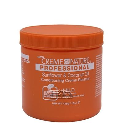 Creme of Nature Sunflower & Coconut Oil Conditioning Creme Relaxer Mild 15oz