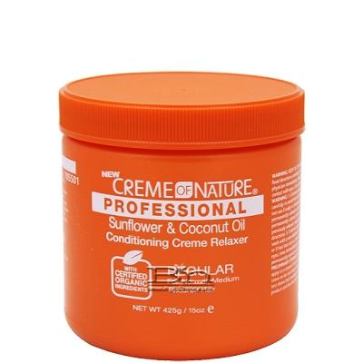 Creme of Nature Sunflower & Coconut Oil Conditioning Creme Relaxer Regular 15oz