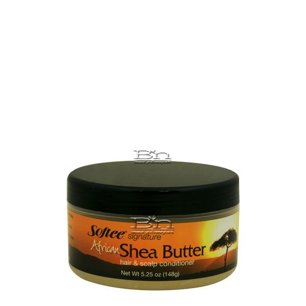 Softee African Shea Butter Hair and Scalp Conditioner 6oz